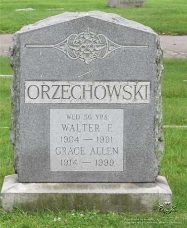 ORZECHOWSKI, WALTER F. - Lucas County, Ohio | WALTER F. ORZECHOWSKI - Ohio Gravestone Photos