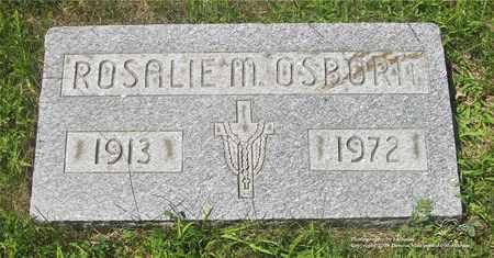 OSBORN, ROSALIE M. - Lucas County, Ohio | ROSALIE M. OSBORN - Ohio Gravestone Photos