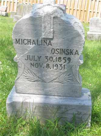 OSINSKA, MICHALINA - Lucas County, Ohio | MICHALINA OSINSKA - Ohio Gravestone Photos