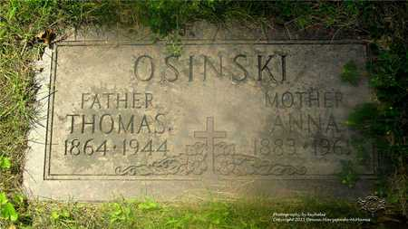 OSINSKI, THOMAS - Lucas County, Ohio | THOMAS OSINSKI - Ohio Gravestone Photos
