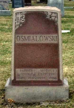 OSMIALOWSKI, KATHERINE - Lucas County, Ohio | KATHERINE OSMIALOWSKI - Ohio Gravestone Photos