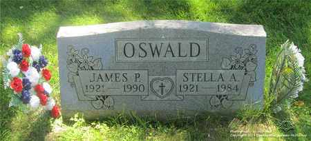 OSWALD, JAMES P. - Lucas County, Ohio | JAMES P. OSWALD - Ohio Gravestone Photos