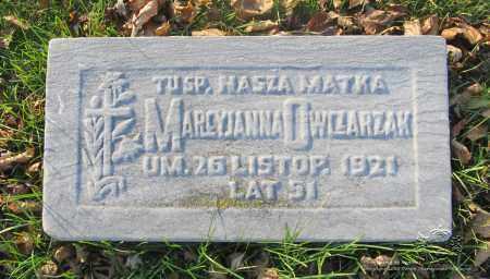 OWCZARZAK, MARCYJANNA - Lucas County, Ohio | MARCYJANNA OWCZARZAK - Ohio Gravestone Photos