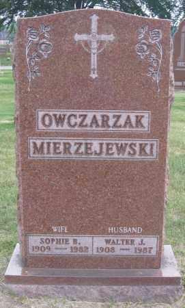 OWCZARZAK, WALTER J. - Lucas County, Ohio | WALTER J. OWCZARZAK - Ohio Gravestone Photos