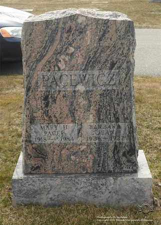 PACEWICZ, BARBARA JEAN - Lucas County, Ohio | BARBARA JEAN PACEWICZ - Ohio Gravestone Photos