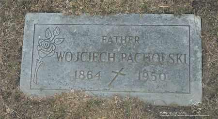 PACHOLSKI, WOJCIECH - Lucas County, Ohio   WOJCIECH PACHOLSKI - Ohio Gravestone Photos
