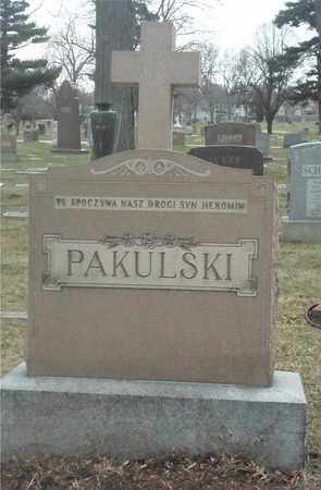 PAKULSKI, FAMILY MONUMENT - Lucas County, Ohio | FAMILY MONUMENT PAKULSKI - Ohio Gravestone Photos