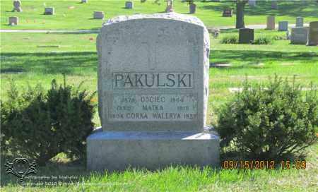 PAKULSKI, KATARZYNA - Lucas County, Ohio | KATARZYNA PAKULSKI - Ohio Gravestone Photos