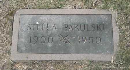 CZAJA PAKULSKI, STELLA - Lucas County, Ohio | STELLA CZAJA PAKULSKI - Ohio Gravestone Photos