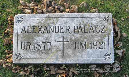 PALACZ, ALEXANDER - Lucas County, Ohio | ALEXANDER PALACZ - Ohio Gravestone Photos