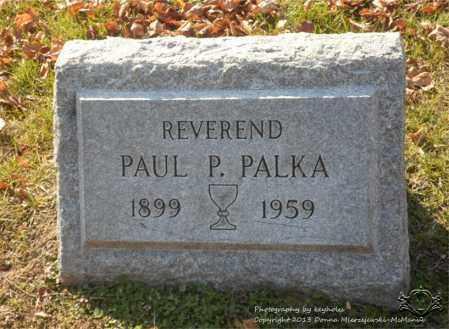 PALKA, PAUL P. - Lucas County, Ohio | PAUL P. PALKA - Ohio Gravestone Photos