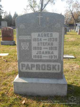 PAPROSKI, JOANNA - Lucas County, Ohio | JOANNA PAPROSKI - Ohio Gravestone Photos