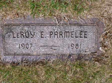 PARMELEE, LEROY - Lucas County, Ohio | LEROY PARMELEE - Ohio Gravestone Photos