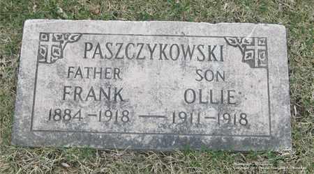 PASZCZYKOWSKI, FRANK - Lucas County, Ohio | FRANK PASZCZYKOWSKI - Ohio Gravestone Photos