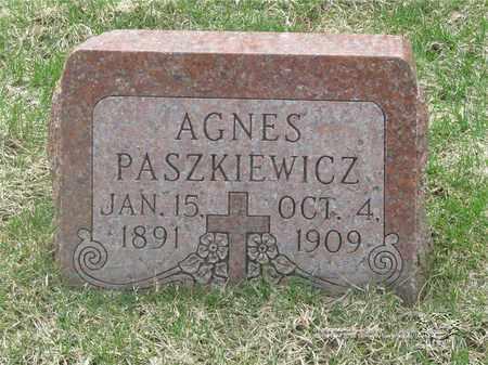 PASZKIEWICZ, AGNES - Lucas County, Ohio | AGNES PASZKIEWICZ - Ohio Gravestone Photos