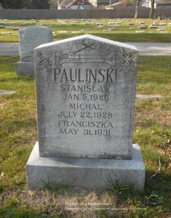 PAULINSKI, MICHAL - Lucas County, Ohio | MICHAL PAULINSKI - Ohio Gravestone Photos