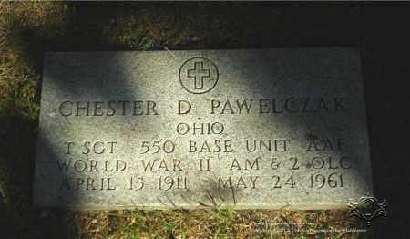 PAWELCZAK, CHESTER D. (MILITARY STONE) - Lucas County, Ohio   CHESTER D. (MILITARY STONE) PAWELCZAK - Ohio Gravestone Photos