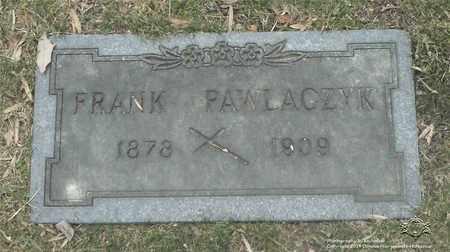 PAWLACZYK, FRANK - Lucas County, Ohio | FRANK PAWLACZYK - Ohio Gravestone Photos
