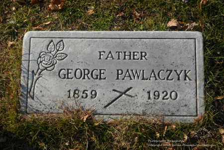 PAWLACZYK, GEORGE - Lucas County, Ohio | GEORGE PAWLACZYK - Ohio Gravestone Photos