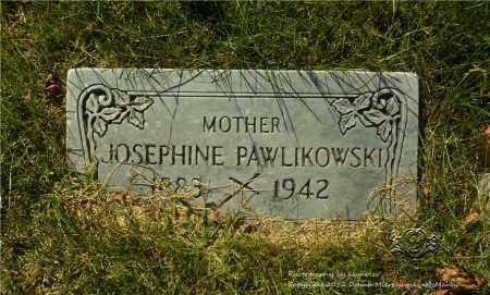 PIEROG PAWLIKOWSKI, JOSEPHINE - Lucas County, Ohio | JOSEPHINE PIEROG PAWLIKOWSKI - Ohio Gravestone Photos