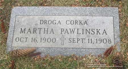 PAWLINSKA, MARTHA - Lucas County, Ohio | MARTHA PAWLINSKA - Ohio Gravestone Photos