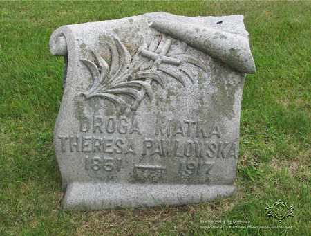 PAWLOWSKA, THERESA - Lucas County, Ohio | THERESA PAWLOWSKA - Ohio Gravestone Photos