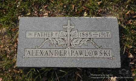 PAWLOWSKI, ALEXANDER - Lucas County, Ohio | ALEXANDER PAWLOWSKI - Ohio Gravestone Photos