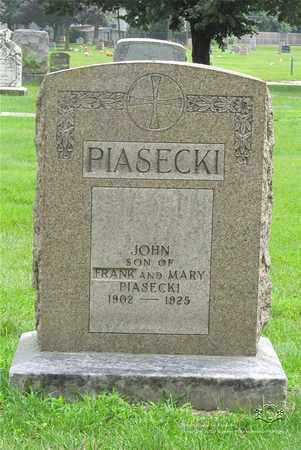 PIASECKI, JOHN - Lucas County, Ohio | JOHN PIASECKI - Ohio Gravestone Photos