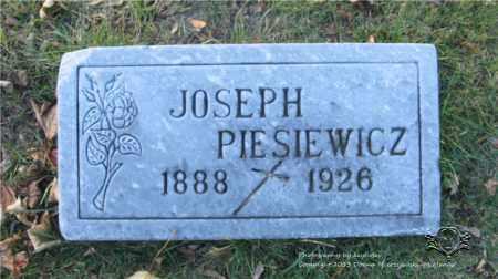 PIESIEWICZ, JOSEPH - Lucas County, Ohio | JOSEPH PIESIEWICZ - Ohio Gravestone Photos