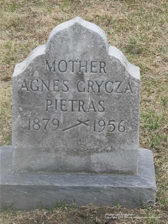 OLENDER PIETRAS, AGNES - Lucas County, Ohio | AGNES OLENDER PIETRAS - Ohio Gravestone Photos