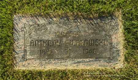 PIETROWSKI, ANTHONY - Lucas County, Ohio | ANTHONY PIETROWSKI - Ohio Gravestone Photos