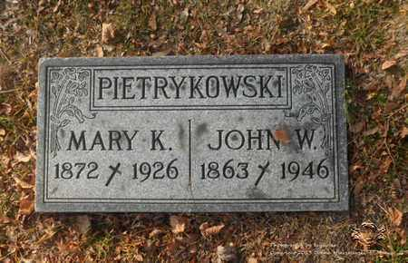 PIETRYKOWSKI, MARY K. - Lucas County, Ohio | MARY K. PIETRYKOWSKI - Ohio Gravestone Photos