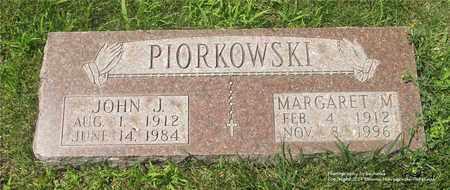 PIORKOWSKI, MARGARET M. - Lucas County, Ohio | MARGARET M. PIORKOWSKI - Ohio Gravestone Photos