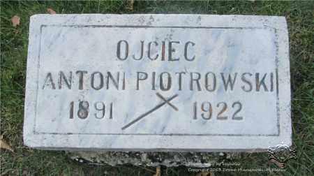 PIOTROWSKI, ANTONI - Lucas County, Ohio | ANTONI PIOTROWSKI - Ohio Gravestone Photos