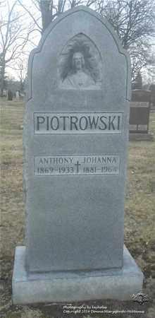 PIOTROWSKI, JOHANNA - Lucas County, Ohio | JOHANNA PIOTROWSKI - Ohio Gravestone Photos