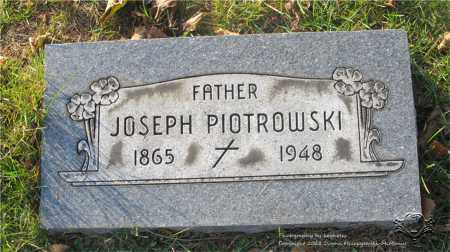 PIOTROWSKI, JOSEPH - Lucas County, Ohio | JOSEPH PIOTROWSKI - Ohio Gravestone Photos