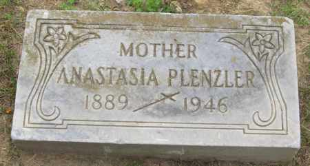 PLENZLER, ANASTASIA - Lucas County, Ohio | ANASTASIA PLENZLER - Ohio Gravestone Photos