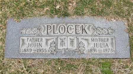 PLOCEK, JULIA - Lucas County, Ohio | JULIA PLOCEK - Ohio Gravestone Photos