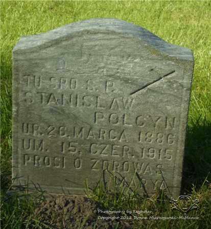 POLCYN, STANISLAW - Lucas County, Ohio | STANISLAW POLCYN - Ohio Gravestone Photos