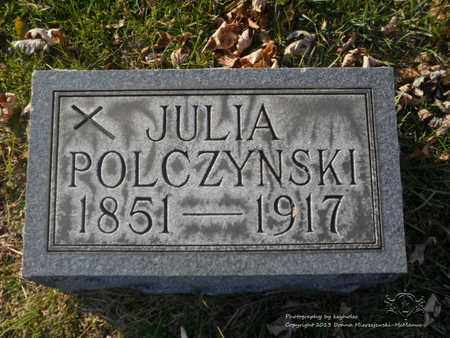 POLCZYNSKI, JULIA - Lucas County, Ohio | JULIA POLCZYNSKI - Ohio Gravestone Photos