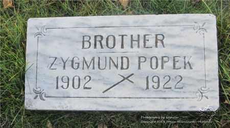 POPEK, ZYGMUND - Lucas County, Ohio | ZYGMUND POPEK - Ohio Gravestone Photos