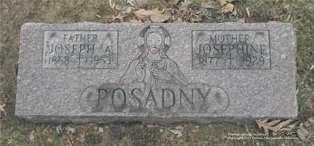POSADNY, JOSEPH A. - Lucas County, Ohio | JOSEPH A. POSADNY - Ohio Gravestone Photos