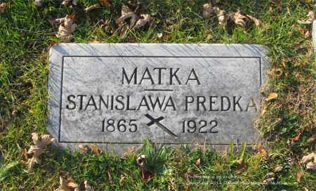 STUMINSKI PREDKA, STANISLAWA - Lucas County, Ohio | STANISLAWA STUMINSKI PREDKA - Ohio Gravestone Photos