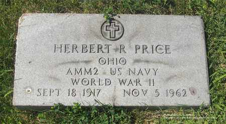 PRICE, HERBERT R. - Lucas County, Ohio | HERBERT R. PRICE - Ohio Gravestone Photos