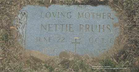 PRUHS, NETTIE - Lucas County, Ohio | NETTIE PRUHS - Ohio Gravestone Photos
