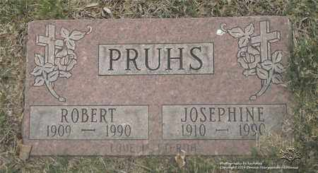 PRUHS, ROBERT - Lucas County, Ohio | ROBERT PRUHS - Ohio Gravestone Photos