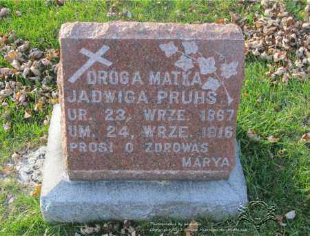 PRUSS, JADWIGA - Lucas County, Ohio | JADWIGA PRUSS - Ohio Gravestone Photos