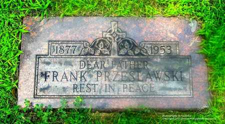 PRZESLAWSKI, FRANK - Lucas County, Ohio | FRANK PRZESLAWSKI - Ohio Gravestone Photos