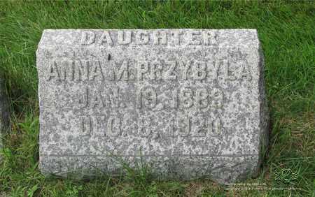 KUJAWA PRZYBYLA, ANNA M. - Lucas County, Ohio | ANNA M. KUJAWA PRZYBYLA - Ohio Gravestone Photos