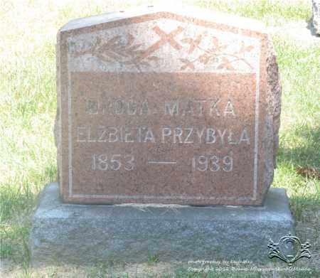 KONCZAL PRZYBYLA, ELZBIETA - Lucas County, Ohio | ELZBIETA KONCZAL PRZYBYLA - Ohio Gravestone Photos